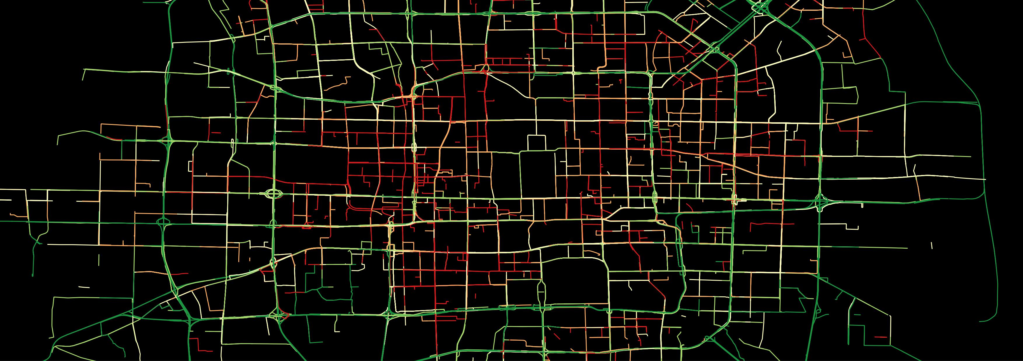 GPS data from taxis in Beijing